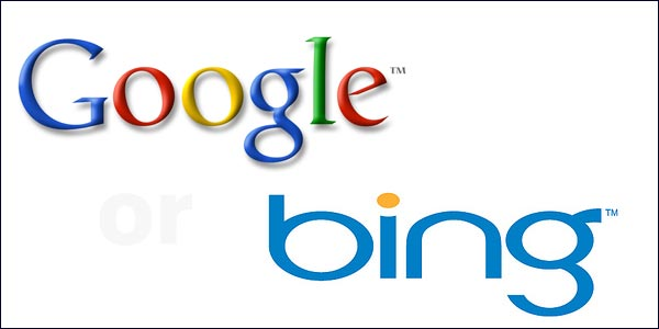 google or bing